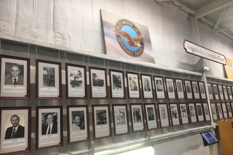 Virginia Aeronautical Historical Society to induct three into Virginia Aviation Hall of Fame