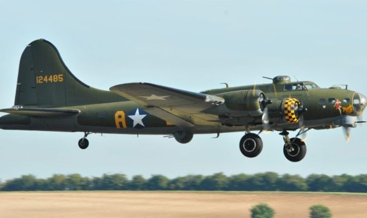 """B-17G Flying Fortress """"Sally B"""" – Temporarily Suspending Operations"""