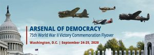 The Arsenal of Democracy 75th World War II Victory Commemoration Flyover