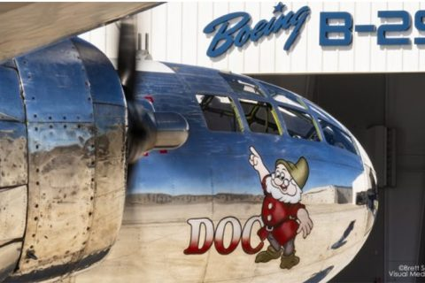 B-29 Doc Hangar to Reopen June 2 to The Public