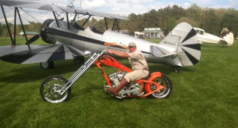 Motorcycle Day, Barnstorming Airshow & Biplane Rides