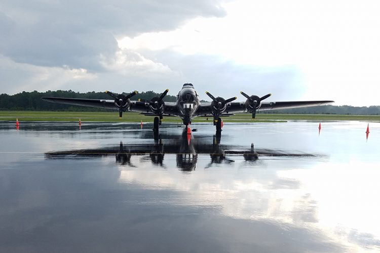 "B-17G ""Sentimental Journey"" at Warrenton-Fauquier Airport"