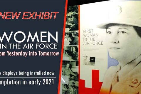 MUSEUM TO OPEN NEW EXHIBIT ON WOMEN IN THE AIR FORCE