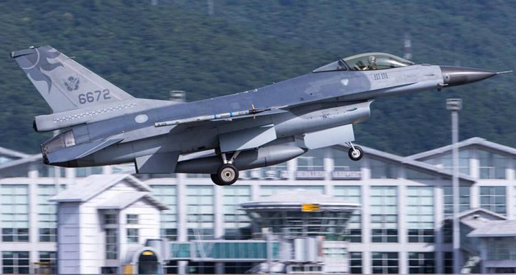 Taiwan Grounds F-16 Fighter Fleet Following Crash