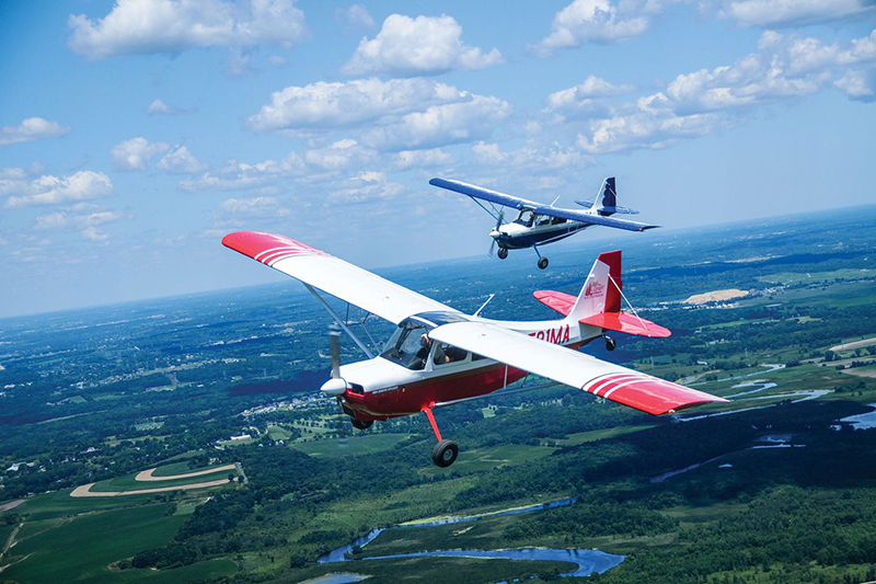 """In a tricycle-gear airplane, you're in trouble when your feet start moving. In a taildragger, you're in trouble when your feet stop moving.""Courtesy Ladies Love Taildraggers"