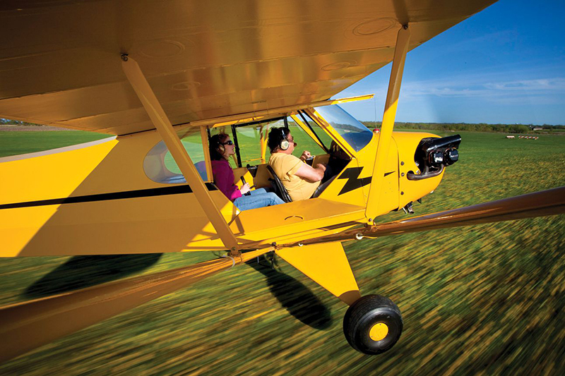 No doubt, learning to fly a taildragger—even when you're able to practice regularly—can easily become a humbling experience for the complacent pilot.Courtesy Ladies Love Taildraggers