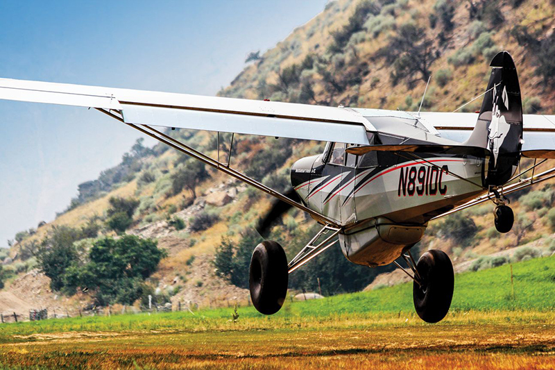 Don't get too bogged down in all the details of what to do or not do in a taildragger, though. When all is said and done, flying one of these airplanes is a whole heck of a lot of fun too.Courtesy Ladies Love Taildraggers