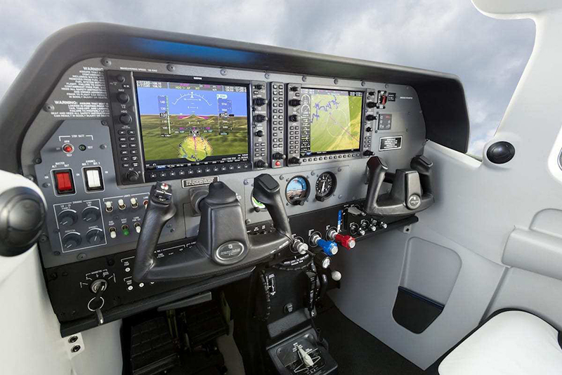 THE GARMIN G1000 NXI IN A CESSNA 206.