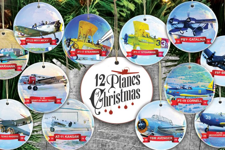 COMMEMORATIVE AIR FORCE ANNOUNCES THE 12 PLANES OF CHRISTMAS FOR 2020