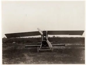 The Christmas Bullet, circa 1918. (Smithsonian National Air and Space Museum, Sherman Fairchild Collection of Aeronautical Photographs)