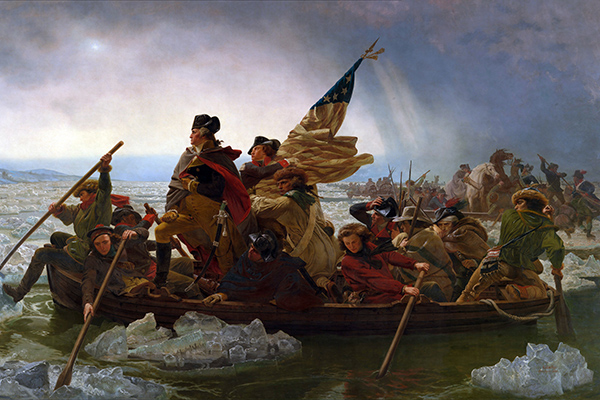 Military Events That Happened on Christmas – 1776: Washington's Famous Crossing of the Delaware