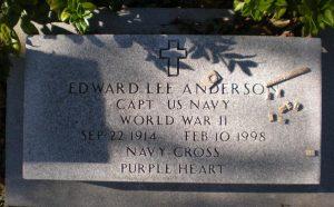 Capt. Edward L. Anderson Spotlight