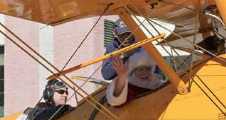 SANTA WILL VISIT THE MILITARY AVIATION MUSEUM