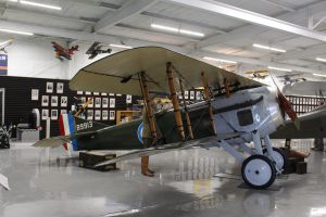 "The Spad VII was in the 1927 film, ""Wings,"" which was the first feature film to win an academy award! The SPAD series was one of the best fighter planes of World War I."