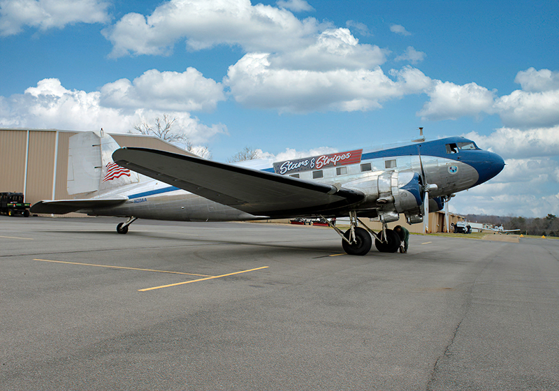 "The ""Stars & Stripes"" DC3 - the Newest Member of the Shannon Air Museum Fleet"