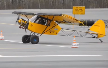 STOL Competition – World Record Shortest Landing 9 Feet 5 Inches