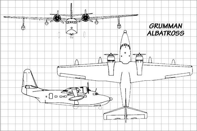 The Grumman HU-16 Albatross