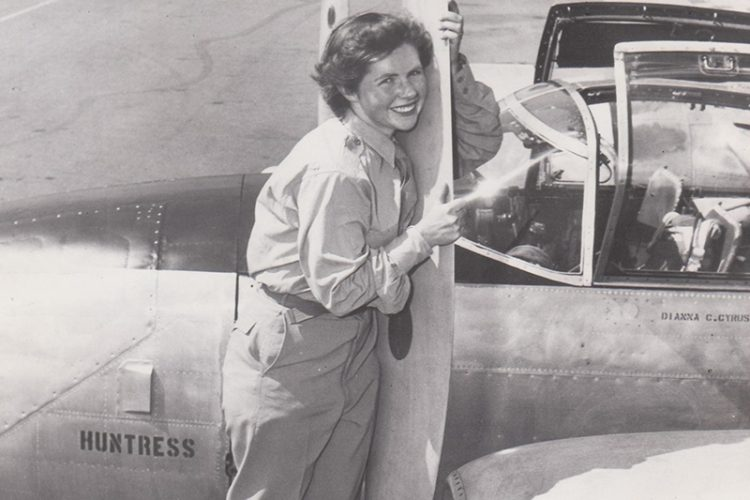 DIANNA BIXBY WANTED TO BE FIRST WOMAN TO COMPLETE A SOLO WORLD FLIGHT