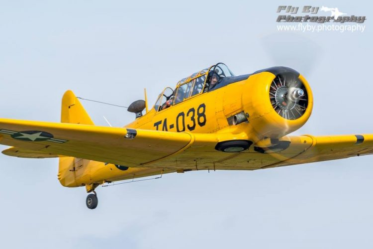 Today's Texan is the T-6G