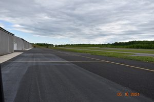 A rehabilitation project at Culpeper Regional improved the taxi lanes around the t-hangars and upgraded the drainage for the Airport.
