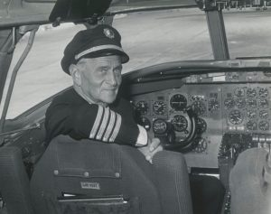 """Harry T. """"Dick"""" Merrill flew the airmail routes from Virginia in the 1920s and 1930s"""