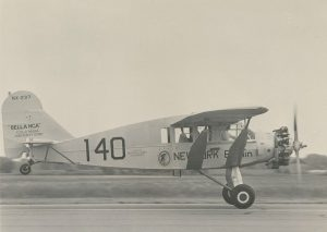 The Shannon Air Museum's Bellanca (NX237) was salvaged from an Alaskan glacier in 1964.